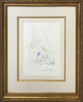 Salvador Dalí, 'L'ARBREDE CONNAISSANCE (THE TREE OF KNOWLEDGE)', 1974