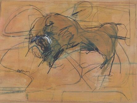 Henry Botkin, 'Angry Bull', 1960