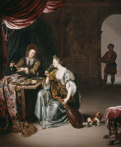Willem van Mieris, 'The Neglected Lute', 1708