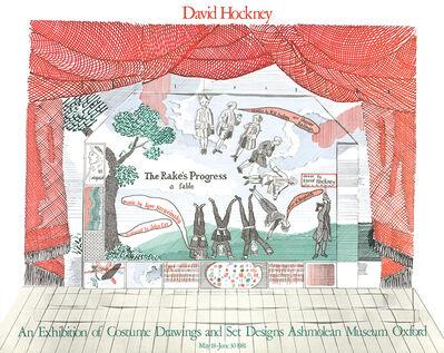 David Hockney, 'Stage Set Design from The Rakes Progress', 1981
