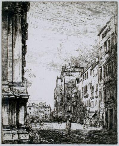 Donald Shaw MacLaughlan, 'Campo, Venice', 1913