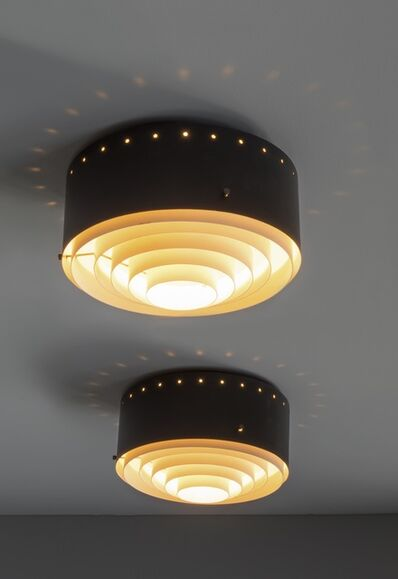 Jacques Biny, 'Pair of ceiling lights 237', 1958