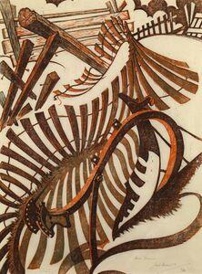 Sybil Andrews, 'Anno Domini', 1970