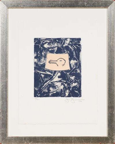 Jasper Johns, 'Rabbit/Duck', 1990