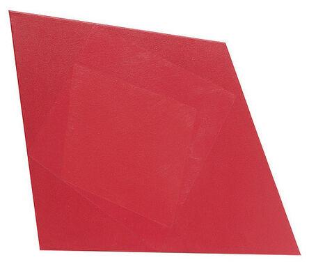 José Hidalgo-Anastacio, 'Hispanics red on red on red, parte de la instalación Hispanics red on red on red. Star spans. Shiny and Yellow (A corner trinity). Convivium Polygon', 2014