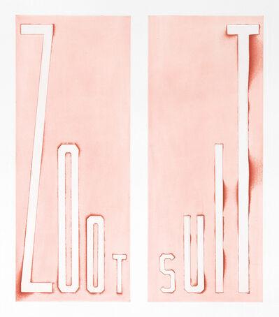 Ed Ruscha, 'Zoot Suit', 2014