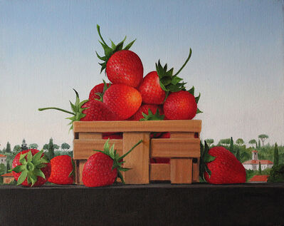 James Aponovich, 'A Small Basket of Strawberries, Week #35', 2011