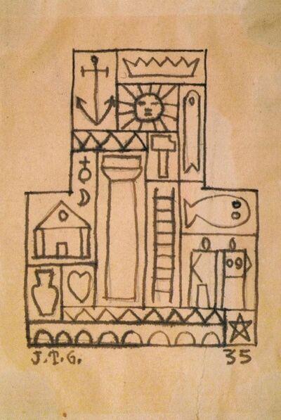 Joaquín Torres-García, 'Constructivo con formas', 1935