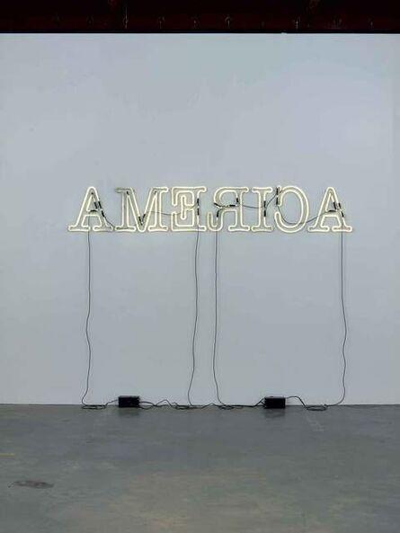 Glenn Ligon, 'Rückenfigur', 2009
