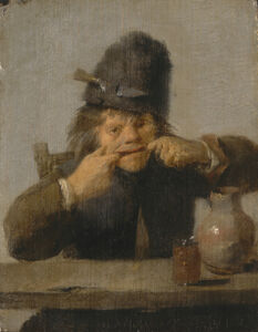 Adriaen Brouwer, 'Youth Making a Face', ca. 1632/1635