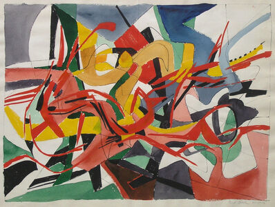 Fred Becker, 'Abstract H', 1954