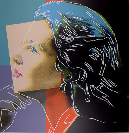 Andy Warhol, 'Ingrid Bergman : Herself', 1983