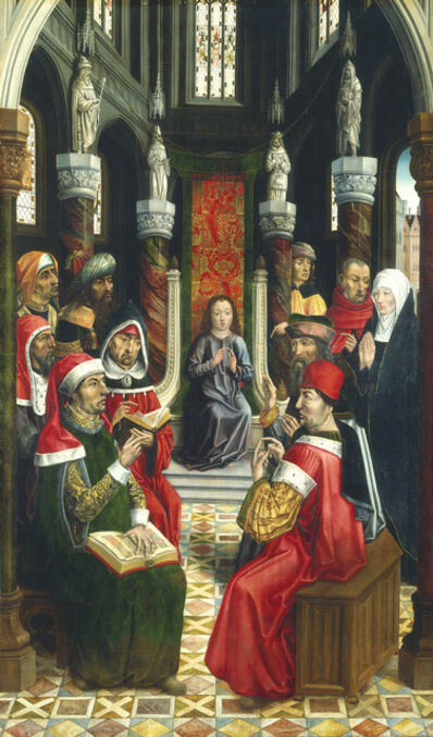 Master of the Catholic Kings, 'Christ among the Doctors', ca. 1495/1497