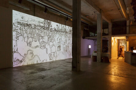 Doron Golan, 'Throng. Figure. | Exhibition view', 2013