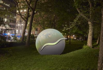 Katja Novitskova, 'Earth Potential (C. elegans, Saturn's Moon Titan)', 2017