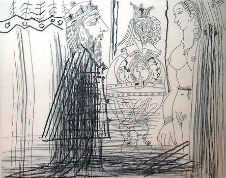 Pablo Picasso, '347 Series: No. 334, Bloch 1814', 1968