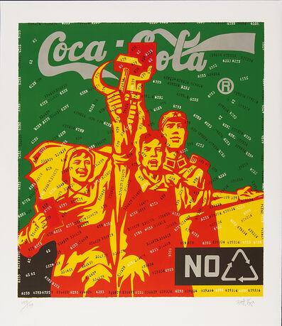 Wang Guangyi 王广义, 'Great Criticism: Coca Cola (Green)', 2006