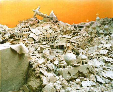 Liset Castillo, 'Pain Is Universal But So Is Hope (Orange)', 2007