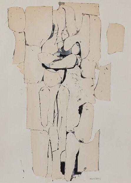 Conrad Marca-Relli, 'Standing Figure', 1954