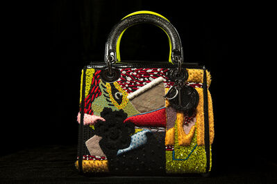 Mickalene Thomas, 'Mickalene Thomas Dior Lady Art #3'