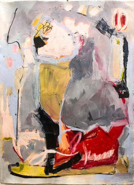 Gail Winbury, 'Lady in Grey', 2020