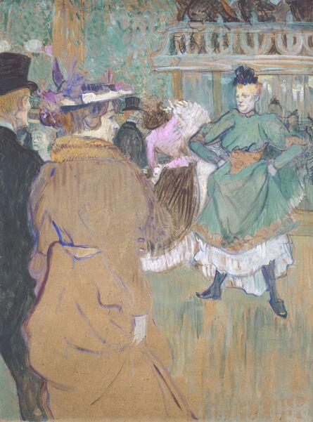 Henri de Toulouse-Lautrec, 'Quadrille at the Moulin Rouge', 1892