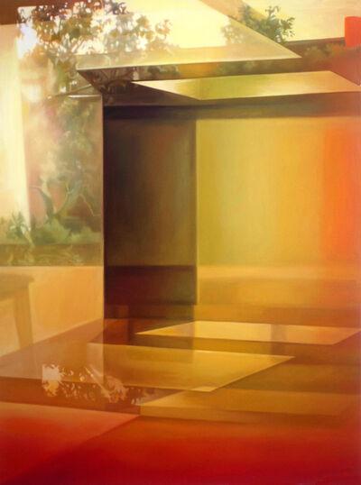 Patti Oleon, 'Yellow Apartment Lobby', 2018