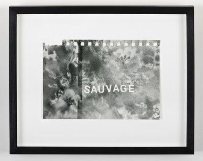 Betty Tompkins, 'Sauvage', 2016
