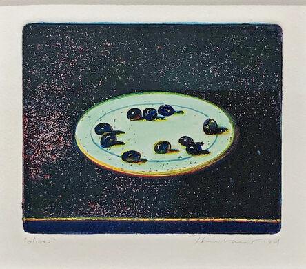 Wayne Thiebaud, 'Olives', 1964