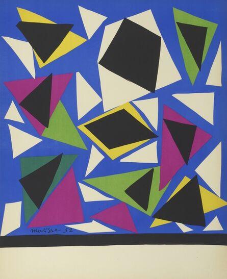 Henri Matisse, 'Composition for the 'Centenaire de l'Imprimerie Mourlot'. Centenary of the Mourlot Print Studio', 1952