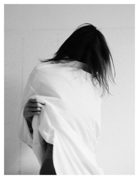 Maude Arsenault, 'Chantal retire sa robe - femme canevas', 2018