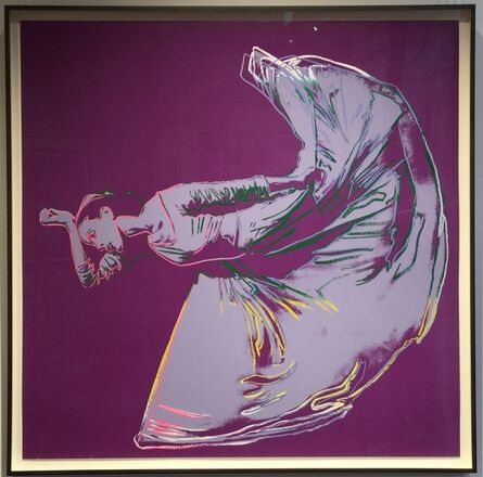 Andy Warhol, 'Letter To The World (The Kick) unique trial proof from the Martha Graham suite', 1986