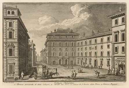 Giuseppe Vasi, 'Collegio Clementino', 1747-1801