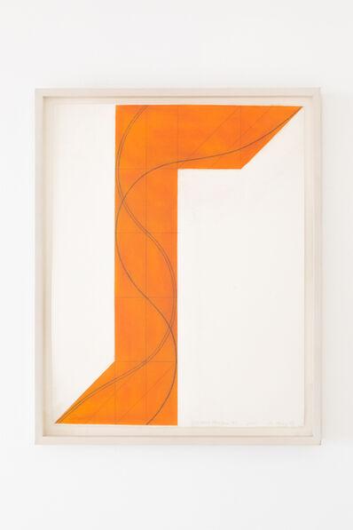 Robert Mangold (b.1937), 'Column Structure XVI', 2007