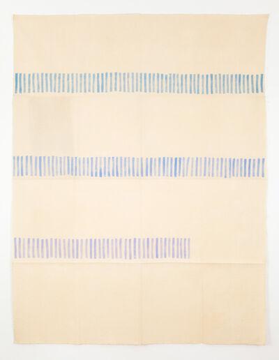 Giorgio Griffa, 'Verticale', 1972