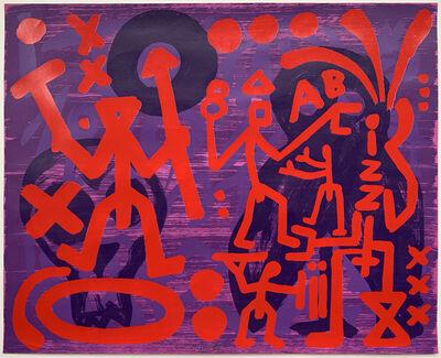 A.R. Penck, 'Schatten', 1990