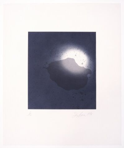Joe Goode, 'Untitled (Moonrise) print #4', 1998