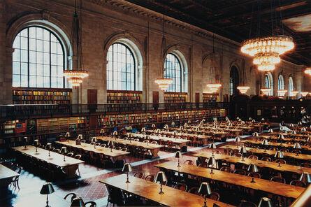 Candida Höfer, 'New York Public Library IV', 1999