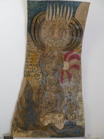 Geneviève Seillé, 'Tattooed character #3', 2002