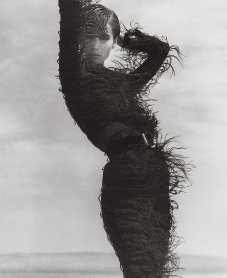 Herb Ritts, 'Christy Turlington - Versace, El Mirage (j)', 1990