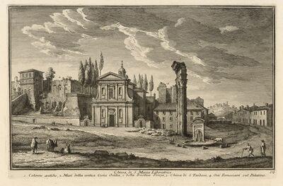 Giuseppe Vasi, 'Chiesa di S. Maria Liberatrice', 1747