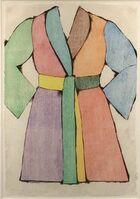 Jim Dine, 'The Woodcut Bathrobe', 1975