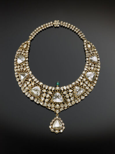 The Al Thani Collection, 'Nizam of Hyderabad necklace, India', 1850–1875
