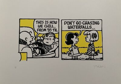Mark Drew, 'This is how we Chill from 93 'till... (Souls of Mischief) & Don't go Chasing Waterfalls... (TLC)', 2017