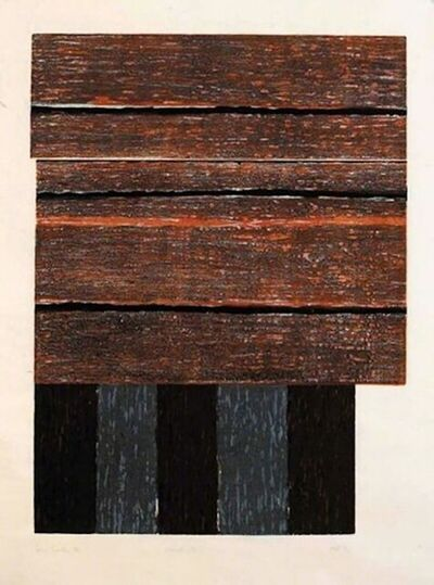 Sean Scully, 'Standing II', 1986
