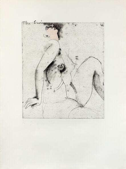 Jim Dine, 'The Swimmer', 1976