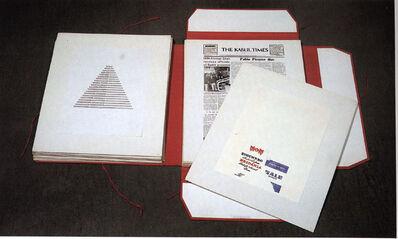 Alighiero Boetti, 'Insicuro Noncurante, portfolio with 81 plates, edition of 41', 1972-1975