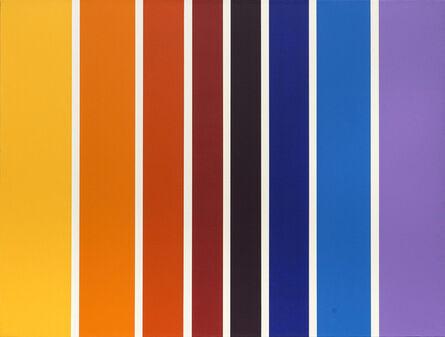 Olga Tatarintseva, 'Lines of color', 2011