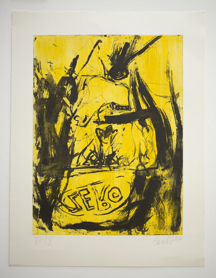 Georg Baselitz, 'Farewell Bill', 2014