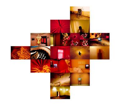 João Castilho, 'Hotel Tropical - Vermelho (Tropical Hotel - Red)', 2011